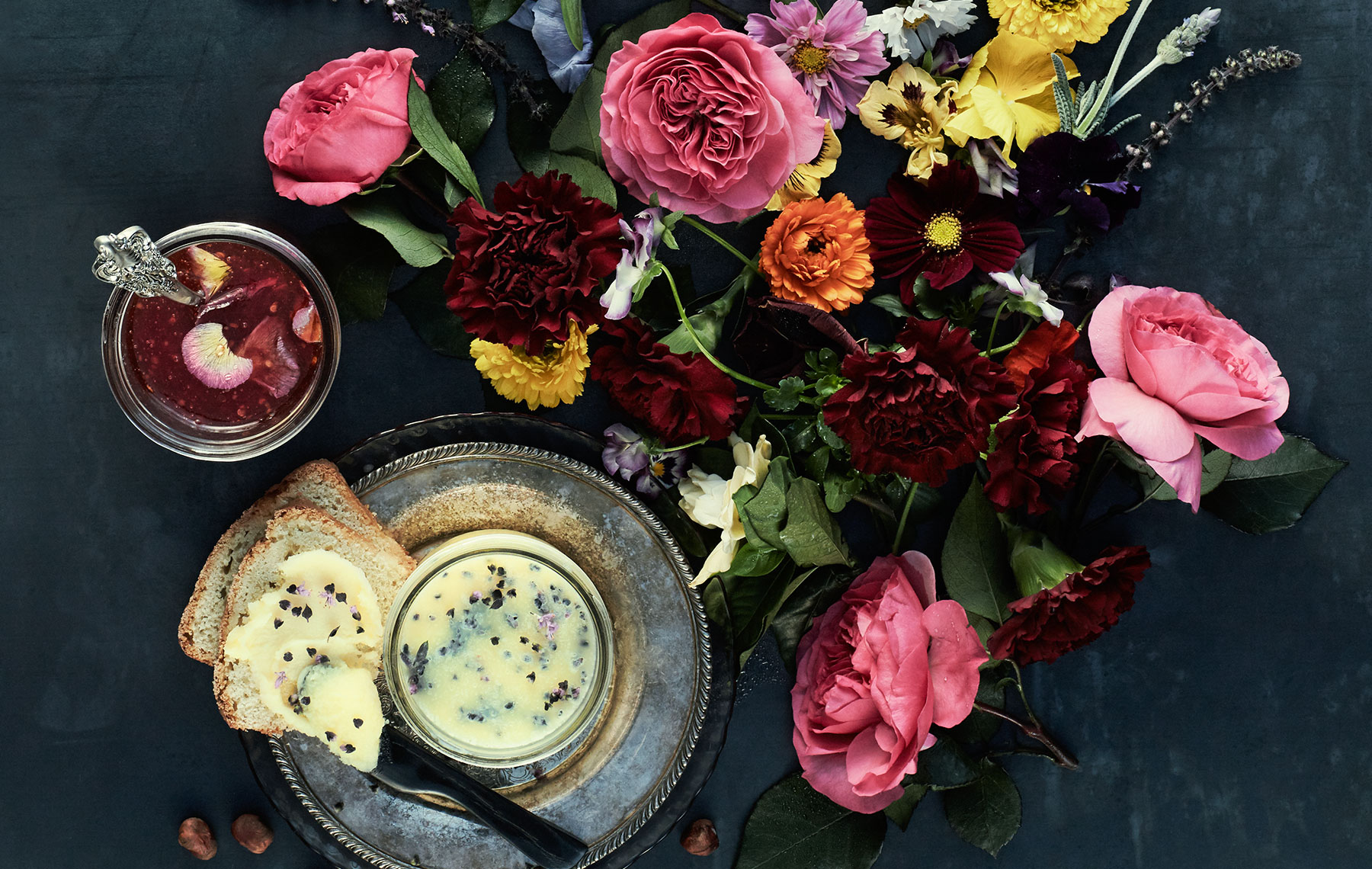 EdibleFlowers_Butter_KyokoFierro_Photography_FoodandWineMagazine